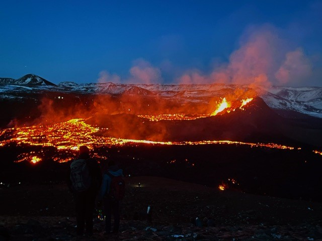 volcano by taxi